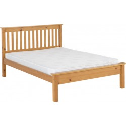 Monaco 5' Bed Low Foot End Antique Pine