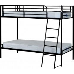 Brandon 3' Bunk Bed Black