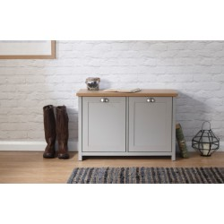LANCASTER SHOE STORAGE GREY