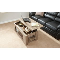 LIFT UP COFFEE TABLE WALNUT