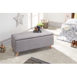 SECRETO OTTOMAN LIGHT GREY