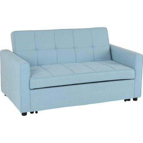 Astoria Sofa Bed Light Blue Fabric