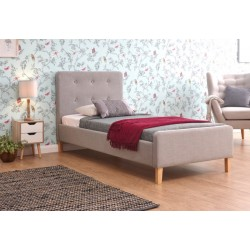 ASHBOURNE 90CM BEDSTEAD LIGHT GREY