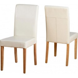 G3 Chair Cream Faux Leather