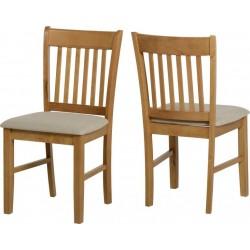 Oxford Chair Natural Oak/Mink Microsuede