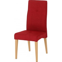 Lucas Chair Red Fabric