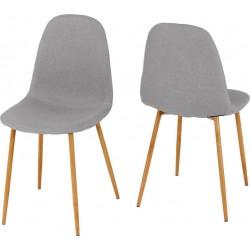 Barley Chair Grey Fabric