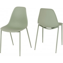 Lindon Chair Green