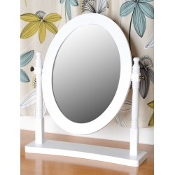Contessa Dressing Table Mirror White