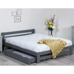 Xiamen Grey Wooden Bed