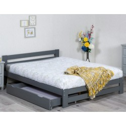 Xiamen Grey Wooden Bed