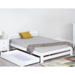 Xiamen White Wooden Bed