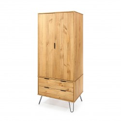 Augusta 2 door, 2 drawer wardrobe