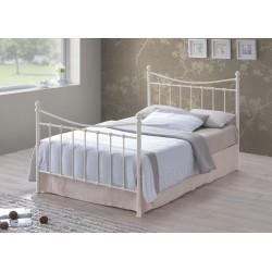 Alderley Metal Bed Frame Ivory