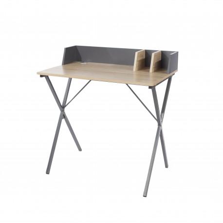 Loft study desk with cross legs
