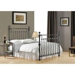 Edward Chrome Metal Bed Frame