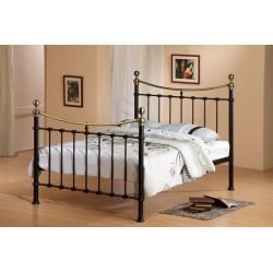 Elizabeth Metal Bed Frame in Black