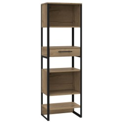 Brooklyn tall narrow bookcase, 1 drawers