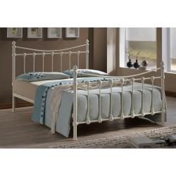 Metal Bed Frame Ivory