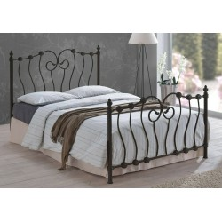 Inova Metal Bed Frame In Black