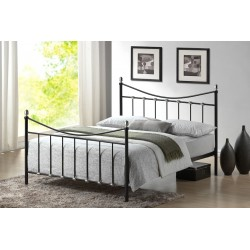 Oban Black Metal bed Frame