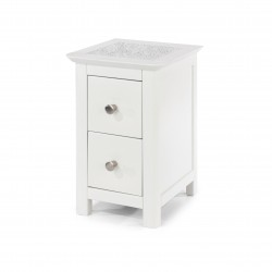 Stirling 2 drawer petite bedside cabinet