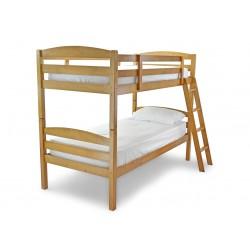 MODERNA 3'0 WOODEN BUNK BED ANTIQUE PINE