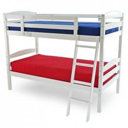 MODERNA 3'0 WOODEN BUNK BED FRAME IN WHITE