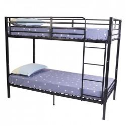 NO BOLT BUNK BED 3'0 GREY SPLIT