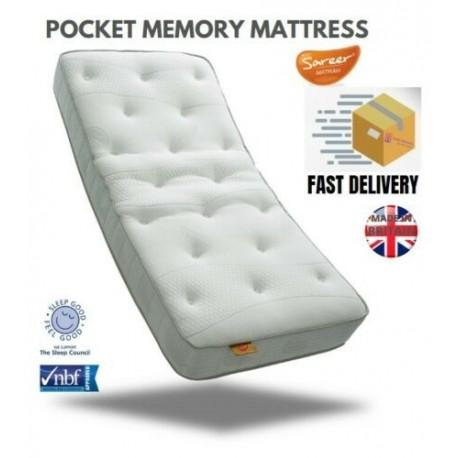 Sareer Pocket Memory Matrah Mattress- Brixton Beds