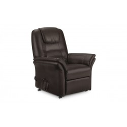 Riva Rise & Recline Chair - Brown