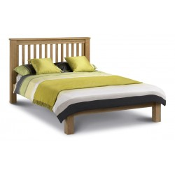 Amsterdam Oak (5ft-150cm) Bed Frame Low Foot End in King Size