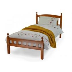 Florence Antique Pine Wood Single Bed Frame (3ft-90cm)