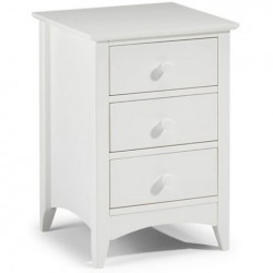 Cameo 3 Drawer Bedside
