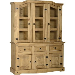 "Corona 4'6"" 3 Doors Buffet Hutch"