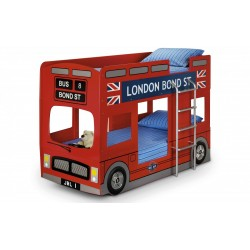 London Red Bus Bunk Bed