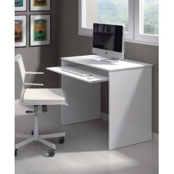 Blanco Small White Gloss Desk