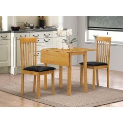 Atlas Dropleaf Dining Set with 2 Chairs