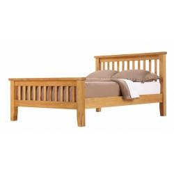Acorn Solid Oak (5ft-150cm) King Bed Frame High Footend