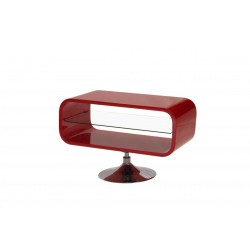 Garfield High Gloss TV Unit In Red Color
