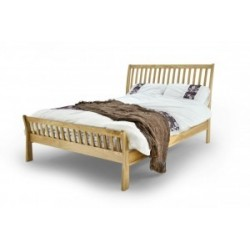 ASHTON SOLID OAK BED